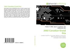 Capa do livro de 2002 Canadian Grand Prix