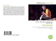 Gus Cannon的封面