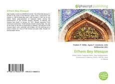 Et'hem Bey Mosque kitap kapağı