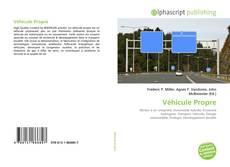 Buchcover von Véhicule Propre