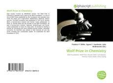Capa do livro de Wolf Prize in Chemistry