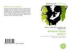Capa do livro de Bardaisan (Syriac gnostic)