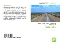 Bookcover of Terra nullius