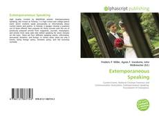 Capa do livro de Extemporaneous Speaking