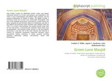Bookcover of Green Lane Masjid