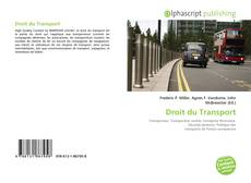 Couverture de Droit du Transport
