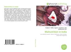 Bookcover of Malnutrition in India