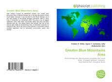 Bookcover of Greater Blue Mountains Area