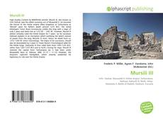 Mursili III的封面