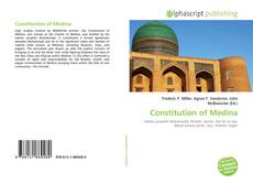 Bookcover of Constitution of Medina
