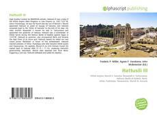 Hattusili III的封面