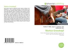Portada del libro de Markus Grosskopf