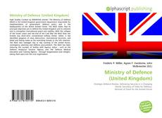 Bookcover of Ministry of Defence (United Kingdom)
