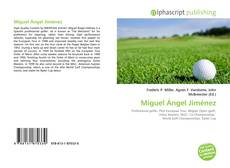 Bookcover of Miguel Ángel Jiménez