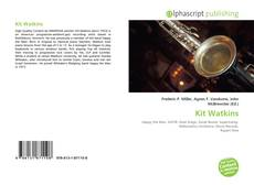 Bookcover of Kit Watkins