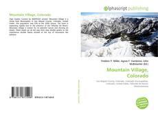 Bookcover of Mountain Village, Colorado