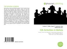 CIA Activities in Bolivia kitap kapağı