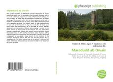 Bookcover of Maredudd ab Owain