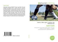Capa do livro de Jack Cock