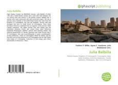 Обложка Julia Balbilla