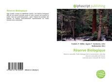 Couverture de Réserve Biologique