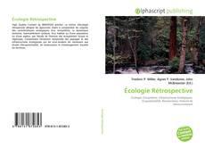 Couverture de Écologie Rétrospective