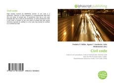Couverture de Civil code