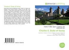 Portada del libro de Charles II, Duke of Savoy