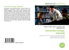 Обложка Concordia College, Adelaide