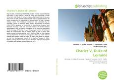 Charles V, Duke of Lorraine的封面