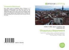 Portada del libro de Chuquisaca Department