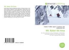 Bookcover of Mt. Baker Ski Area