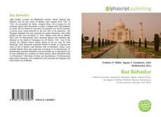 Bookcover of Baz Bahadur