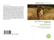 Couverture de Joy Adamson