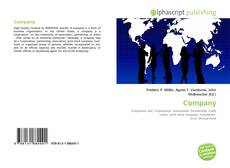 Bookcover of Company