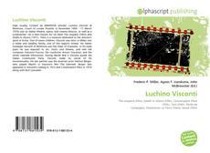 Bookcover of Luchino Visconti