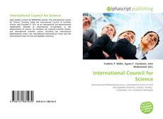 Bookcover of International Council for Science