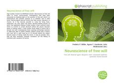 Couverture de Neuroscience of free will
