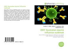 Обложка 2007 Australian equine influenza outbreak