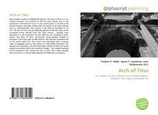 Обложка Arch of Titus