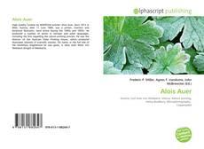 Couverture de Alois Auer