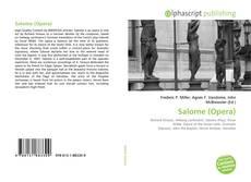 Salome (Opera) kitap kapağı