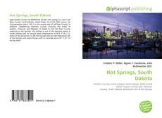 Hot Springs, South Dakota kitap kapağı