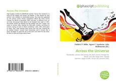 Bookcover of Across the Universe