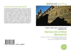 Capa do livro de Honneur de la Police (Résistance)
