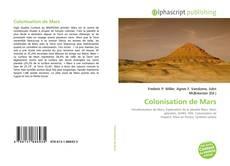 Bookcover of Colonisation de Mars