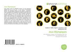 Jeux Olympiques kitap kapağı