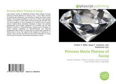 Bookcover of Princess Maria Theresa of Savoy