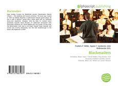 Bookcover of Blackmailers