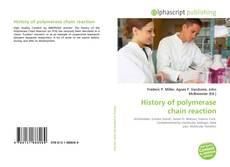 History of polymerase chain reaction kitap kapağı